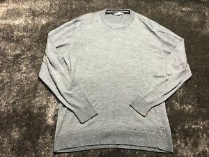 Smartwool Men's Gray Crew Neck Pullover Merino Wool Sweater Size 2XL XXL
