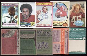 TOPPS 1960 1968 1970 1972 1975 1980 1985 NFL FOOTBALL CARD SEE LIST