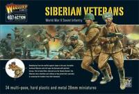 Siberian Veterans WW2 Soviet Infantry - Bolt Action