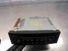 03 PEUGEOT 206 ENTICE CD PLAYER STEREO, NEEDS CODING