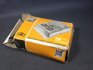 Old Transformer Jouef Of Circuit Electrical Car Toy