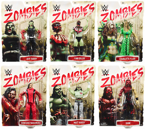 WWE Figures - Zombies Series 3 - Mattel - Brand New - Boxed
