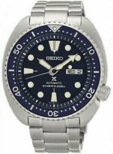 Seiko Blue Turtle Prospex Diver's Men's Stainless Steel Strap Watch SRP773K1