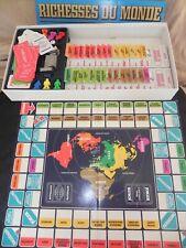 jeu Richesses du monde NATHAN 1982