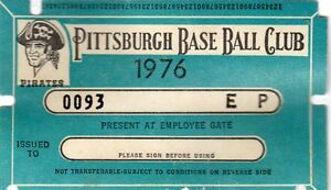 1976 Pass Ticket Pirates Bruce Sutter First Save/300 Life Chicago Cubs