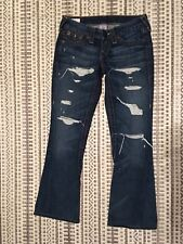 Destroyed Joey Size 25 Strange Brew First Edition True Religion Flare 24-503omw