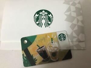 Japan Starbucks mini Enjoy Card 2018 - Pin Intact