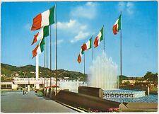 TORINO - ESPOSIZIONE ITALIA 61 - FONTANA LUMINOSA E MONOROTAIA TRENO