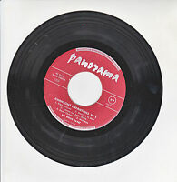 """LES PETITS FAYET Vinyl 45T 7"""" SP CHANSONS ENFANTINES N°1 Enfant PANORAMA 1209"""