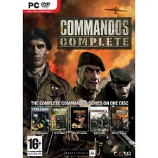 Commandos Complete Collection Game PC - Brand New!