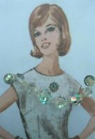 """Mothers Day Vintage Gift Jewellery Crystal Sparkle Beads 50's 60's 16"""" Necklace"""
