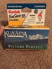Vintage Kodak Fun Saver 35mm 1996 Olympic Games Outdoor Use Only Camera.