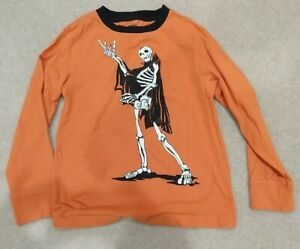 GYMBOREE Boys Size 10 T Shirt Long Sleeve Halloween