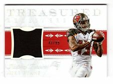 MIKE EVANS NFL 2015 NATIONAL TREASURES TREASURED RECEIVERS MATERIAL (BUCCANEERS)