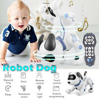 Interactive Remote Control Pet Electronic Robot Dog Puppy Kids Educational Toy