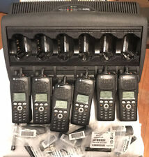 6 Pack Of Xts2500 Fully Refurbished 380-470 AES-256 New Cases Matching Tags.