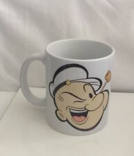 Personalised White Ceramic Mug - Popeye