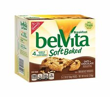 belVita Soft Baked Breakfast Biscuits Oats & Chocolate 8.8 Ounc... Free Shipping