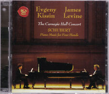 Schubert: Piano Music for Four Hands Evgeny Kissin & James Levine; Carnegie Hall