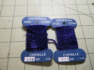 CHENILLE Universal Vice Fly Tying Jig Material NEW 172 Purple 8 Yards