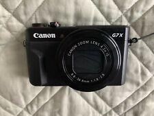 Canon PowerShot G7X Mark II Digital Camera, Used, 8GB Mem Card Included