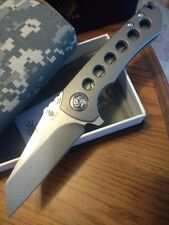 Kizer Critical Matthew Christensen Ki4508 S35VN Blade Titanium Handle Make Offer