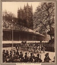 CORONATION 1937. Acclaimed by thousands at Westminster. State carriage 1937