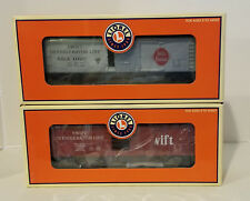 LIONEL REEFER CAR SET SWIFT 6-19555, 6-19556 - NEW IN BOX!!!