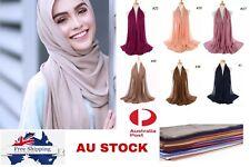 Women's Long Chiffon Scarf Shawls New Ladies Head Wraps Plain colour Scarf Hijab