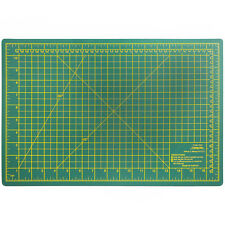 18 Inch x 12 Inch Small Self Healing Double Sided Thick Cutting Board Mat