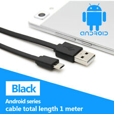 Micro USB Data Sync Charger Cable Lead For Samsung Android Phones & Tablets
