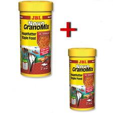 JBL Novo GranoMix 2 x 250 ml Grano Mix Futter-Granulat für JBL AutoFood
