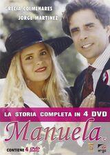4 DVD Manuela telenovelas la storia completa Grecia Colmenares Romantic