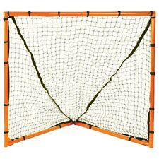 """New Champion Lacrosse 4'x4' Heavy Duty Backyard Goal 1.5"""" Steel Tubing 2.5mm Net"""