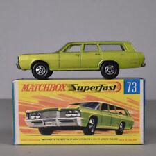 Matchbox Superfast Mercury Diecast Cars