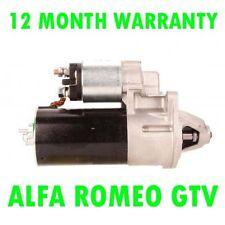 ALFA ROMEO GTV6 2.0 3.0 3.2 V6 COUPE 1995 1996 1997 & GT 2005 rmfd STARTER MOTOR