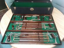 Antique Vtg Ear Nose & Throat Doctor Surgical Instrument Tool Set Otolaryngology