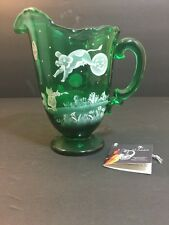 FENTON MARY GREGORY Cat And The Fiddle #153/500 Sue Jackson Pitcher