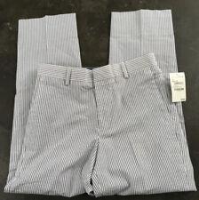 New listing New Nordstrom boys seersucker straight leg casual striped dress pants size 14