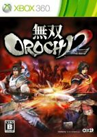 USED Xbox 360 Warriors OROCHI 2 Normal Edition 18651 JAPAN IMPORT