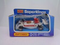 Vintage Matchbox SuperKings DieCast K-73 Surtees F11978 Boxed Racing Car