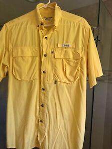 Gander Mountain Guide Series Outdoor Short Sleeve Button-down Shirt Men's Medium