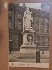 Postcard Birmingham Queen Victoria Memorial posted 1904  RA1