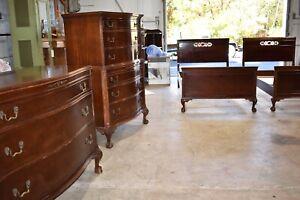 Antique Mahogany Bedroom Set, Empire Case Goods Jamestown NY