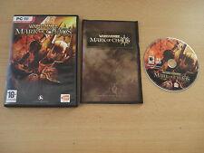 Warhammer Mark of Chaos Pc Dvd Rom-Envío rápido