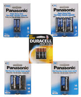 Panasonic & Duracell Battery AA AAA C 9V Super Heavy Duty Battery Selection