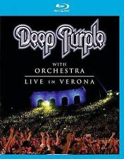 DEEP PURPLE WITH ORCHESTRA: LIVE IN VERONA - Blu-Ray Like New Mint
