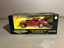 1967 Corvette Sting Ray American Muscle Limited Edition 1:18 Scale Red