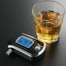 Detector de Alcohol Lcd Portátil Alcoholimetro Tester Analizador Rápido Efectivo