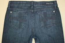 Fidelity Lafayette Mid RIse Boot Cut Jeans Women's Size 27 Dark Wash Denim